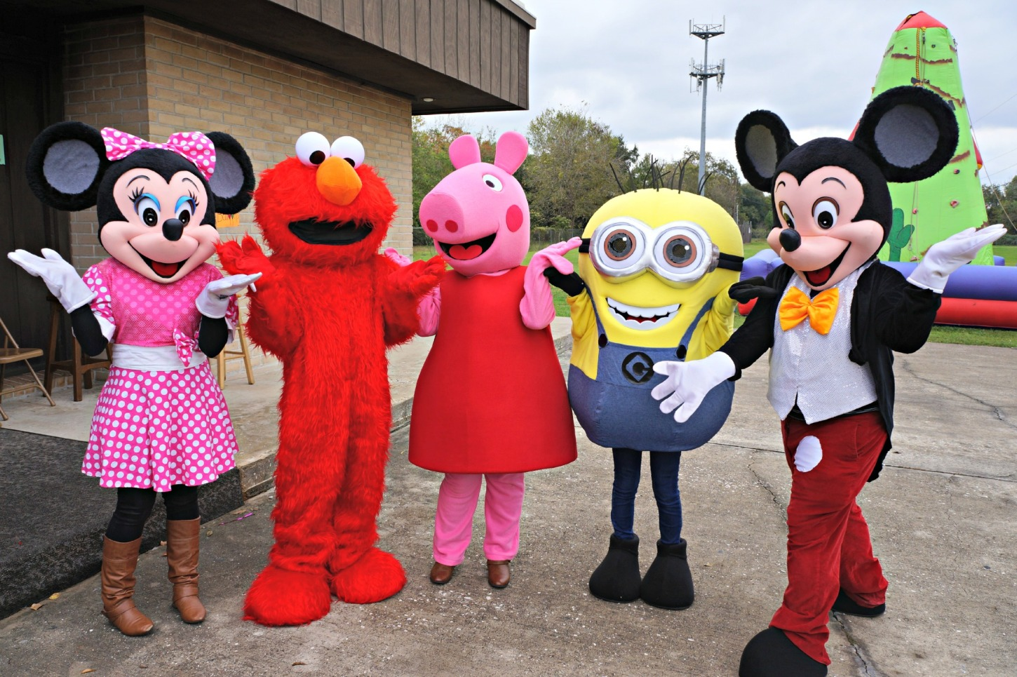 Party Characters In Houston Texas